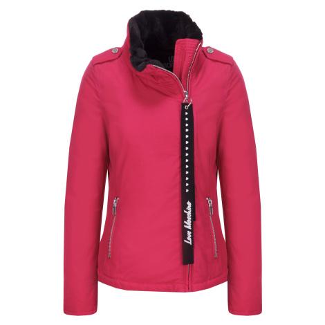 Růžová zimní bunda - LOVE MOSCHINO