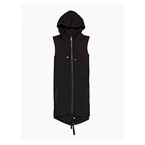 GATE Dlouhá vesta s kapucí