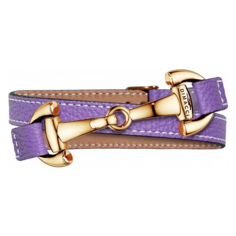 Náramek ALBA DIMACCI, purple/zlatý