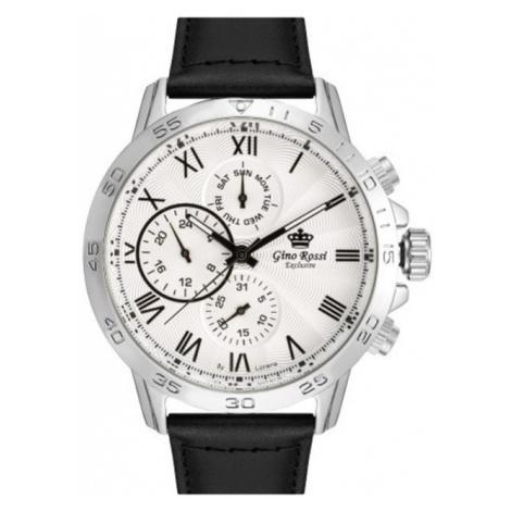 Pánské hodinky Gino Rossi EXCLUSIVE CHONOGRAF E11686A-3A1