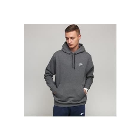 Nike M NSW Club Hoodie PO BB melange tmavě šedá