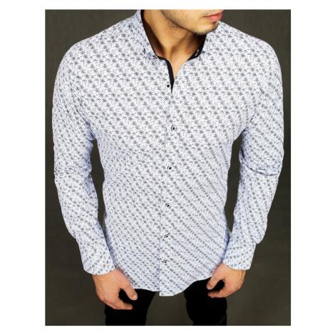 Dstreet Nádherná košile v bílé barvě