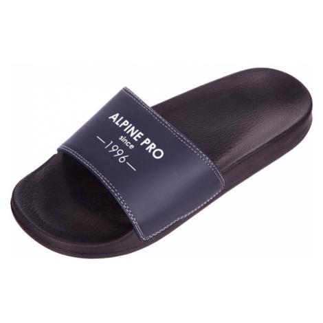 ALPINE PRO EGONI Unisex pantofle UBTN188990 černá