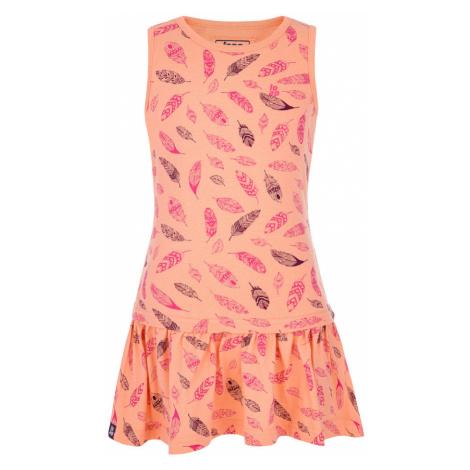 LOAP BAZU Dívčí šaty CLK2130E36J Dessert Flower | Pink