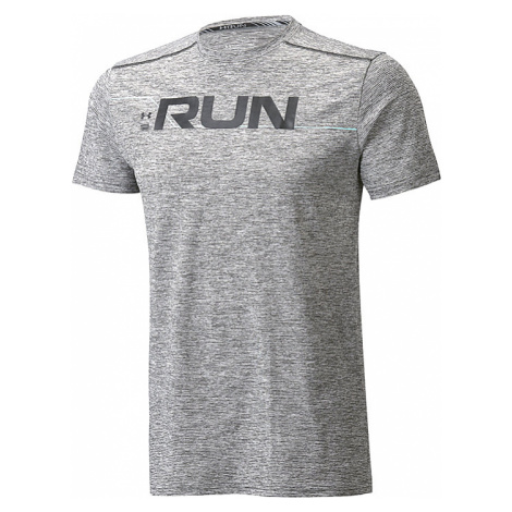 UNDER ARMOUR RUN FRONT GRAPHIC TEE 1316844-001