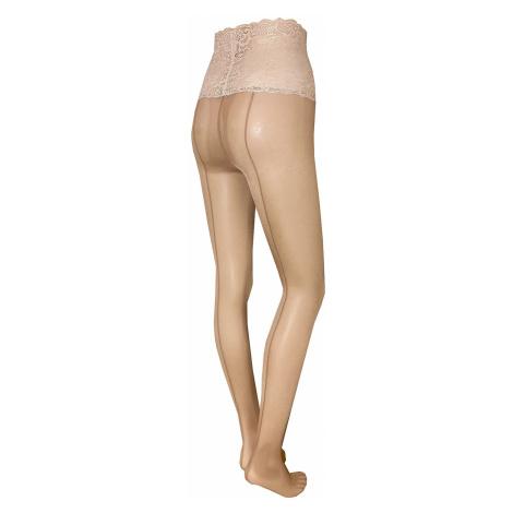 Odolné punčochové kalhoty Daniella Beige