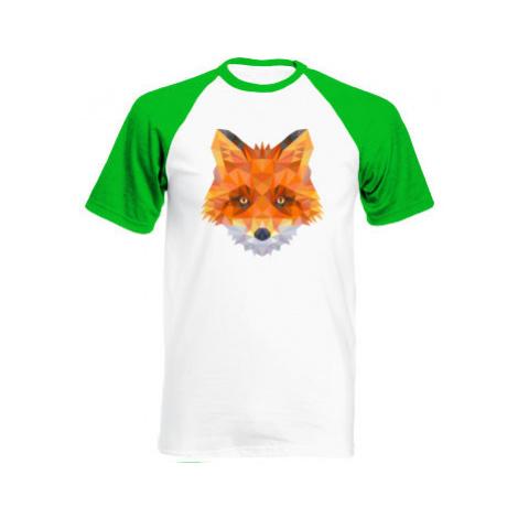 Pánské tričko Baseball liška