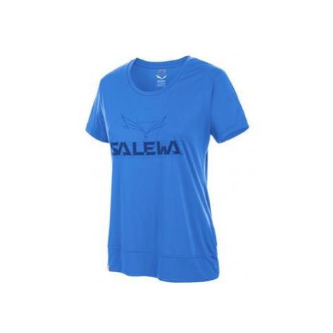 Salewa Puez Mountain Dry W S/s Tee 25646-3420 Modrá
