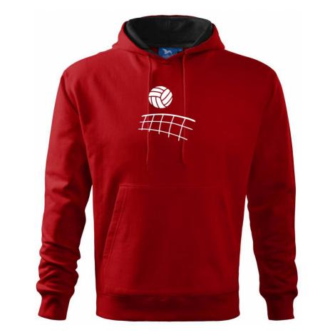 Volejbalová síť - Mikina s kapucí hooded sweater