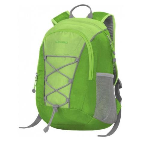 Lewro DINO 12 zelená - Víceúčelový dětský batoh