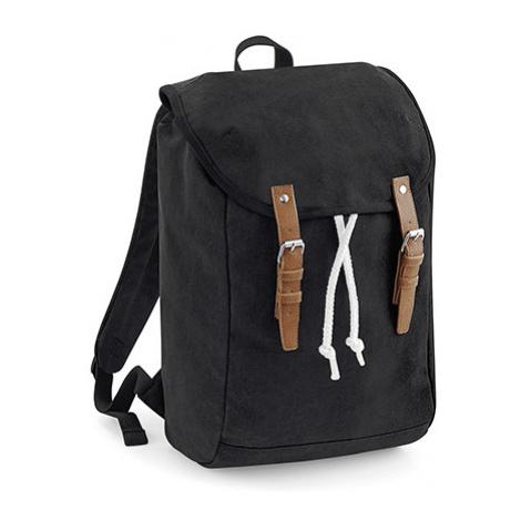 Vintage batoh - černý Quadra