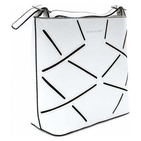 Bílá dámská kabelka na rameno Wenda David Jones