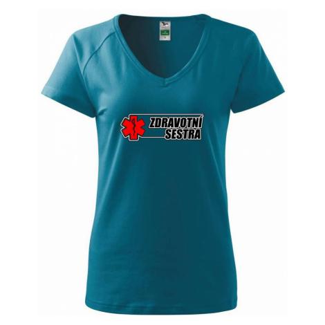 Zdravotní sestra - kříž - Tričko dámské Dream