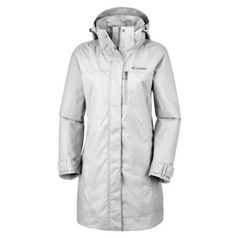 Kabát Columbia Hideaway Creek™ Jacket W - šedá