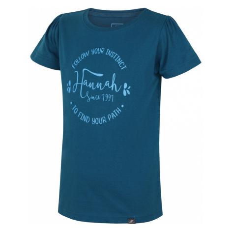 HANNAH Poppy JR Dětské triko 117HH0126KT02 Ink blue