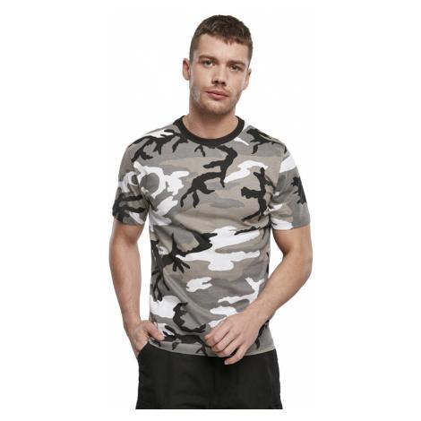 Pánské tričko s krátkým rukávem maskáč