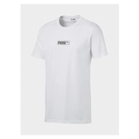 Tričko Puma Graphic Logo N.2 Tee White Bílá