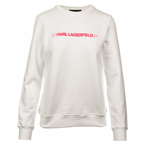 Karl Lagerfeld dámská mikina bílá
