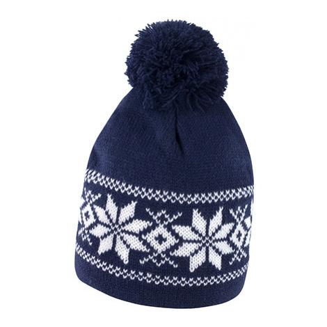 Zimní čepice Fair Isles - modrá Beechfield