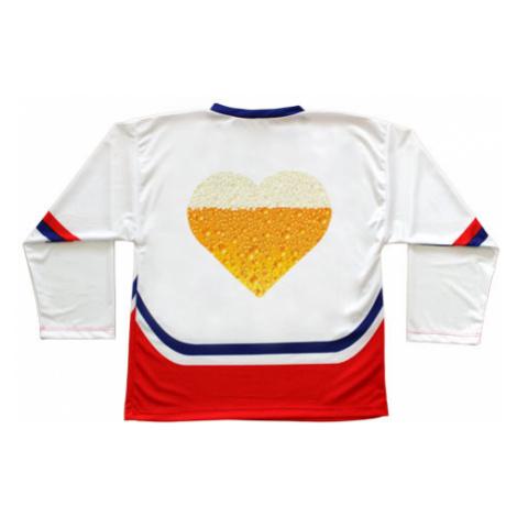 Hokejový dres ČR Pivní srdce