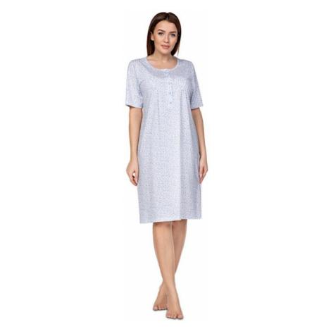 Dámská noční košile Regina 078 plus | světle modrá