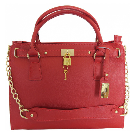 Červená kabelka Trussardi