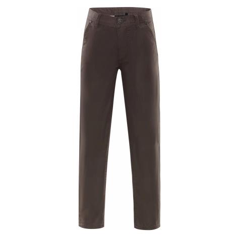 Dětské kalhoty Alpine Pro ADEBO - hnědá