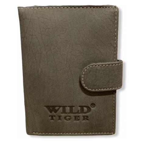 Pánská peněženka Wild Tiger Grey, šedá