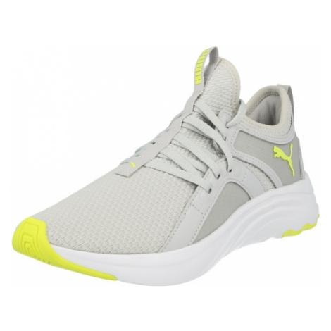 PUMA Běžecká obuv 'Sophia' šedá / svítivě zelená