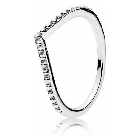 Pandora Stříbrný prsten s korálky