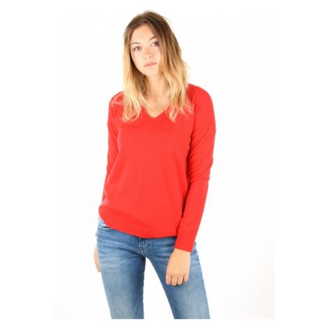 Tommy Hilfiger dámský červený svetr