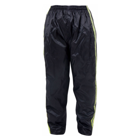 Pláštěnkové Moto Kalhoty W-Tec Rainy Černo-Žlutá