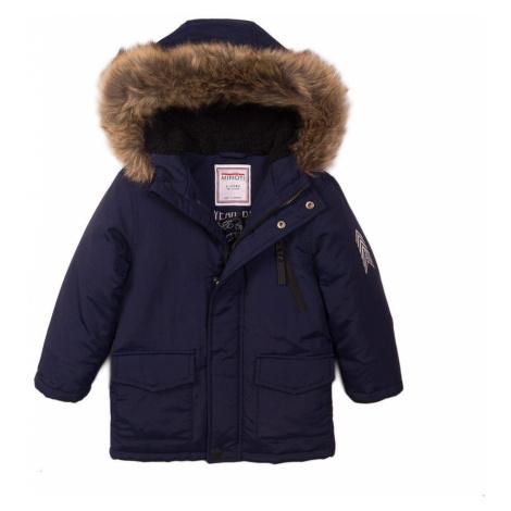 Kabát chlapecký prošívaný Pufa, Minoti, Crown 1, modrá