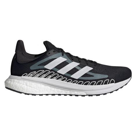 Běžecká obuv adidas SOLAR GLIDE ST 3 Černá / Bílá