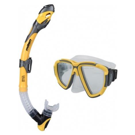 Miton CETO BRAZIL žlutá - Potápěčský set
