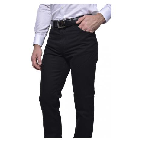 Čierne päťvreckové nohavice Alain Delon