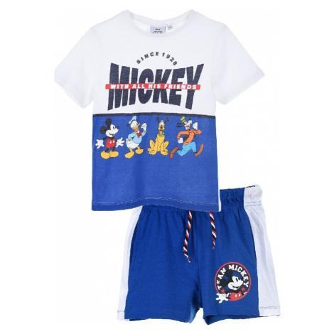 MICKEY MOUSE MODRÝ CHLAPECKÝ SET Disney