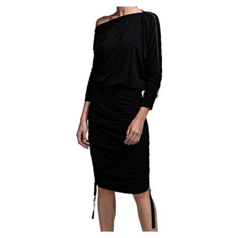 Černé šaty - KARL LAGERFELD