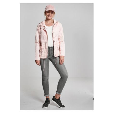 Ladies Basic Cotton Parka - rose Urban Classics