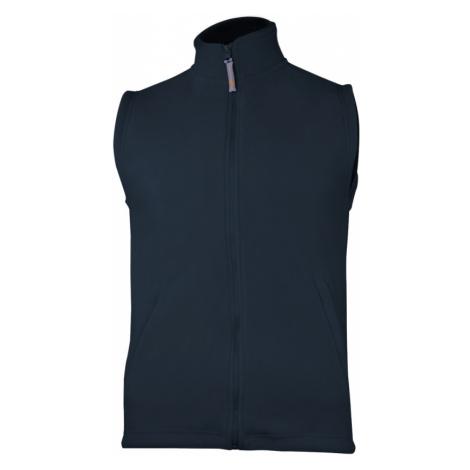 Fleecová unisex vesta - Námořní modř