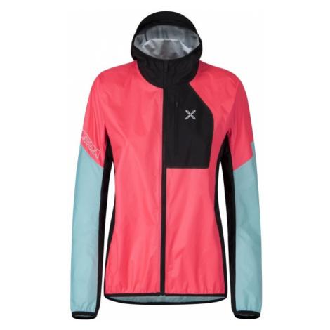 Dámská bunda Montura Rain Safe Jacket Ice Blue-Rosa Sugar