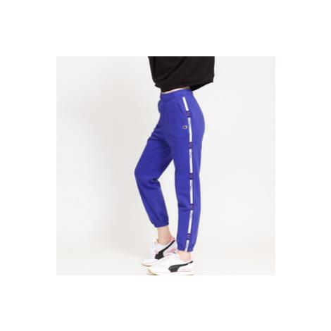 Champion Tape Elastic Cuff Pants modré