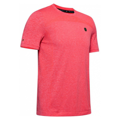 Under Armour UA Rush Seamless Fitted SS-RED