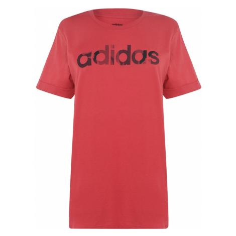 Adidas Camo Boyfriend T Shirt Ladies