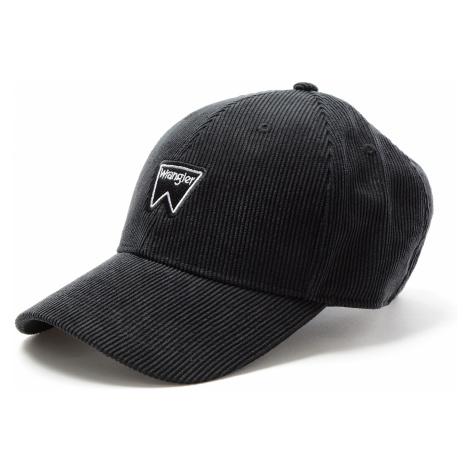 Kšiltovka Wrangler Corduroy Cap černá