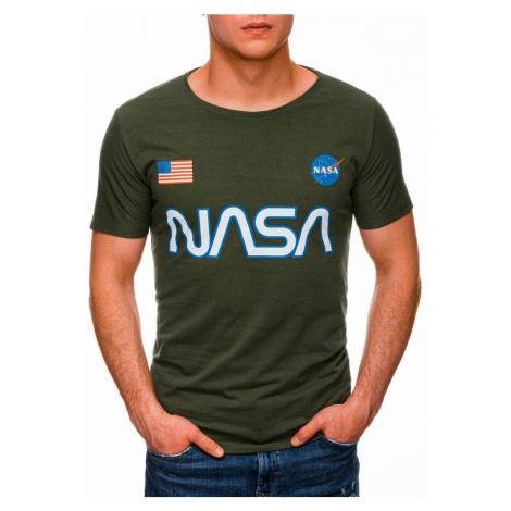 Inny Zelené tričko s potiskem NASA S1437