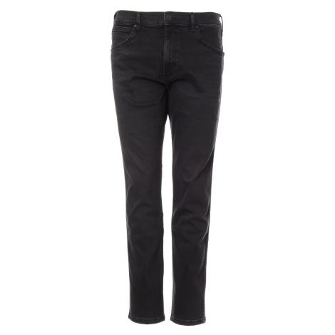 Wrangler jeans Greensboro Black Crow pánské tmavě šedé