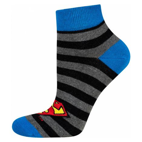 Pánské ponožky Soxo DC Comics šedá