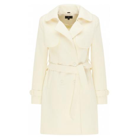 Faina Přechodný kabát bílá