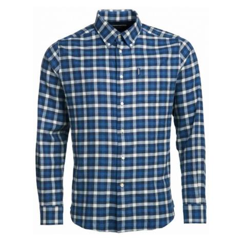 Kostkovaná košile Barbour Country Check 3 - navy (button-down)